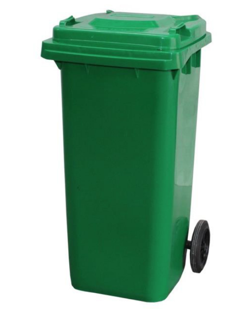 Wheelie Bin. Paper shredding, Document collection