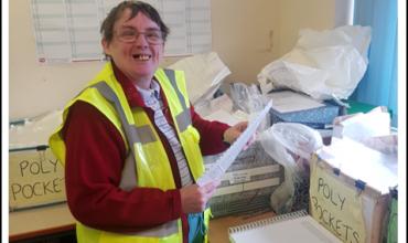 Meet Karen, our document sorter!